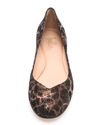 Belle By Sigerson Morrison - Brown Adryn Flats - Lyst