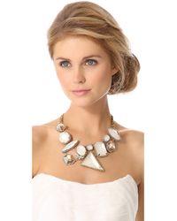 Erickson Beamon - Metallic Whiter Shade Of Pale Necklace - Lyst