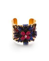 Erickson Beamon - Blue Girls On Film Cuff Bracelet - Lyst