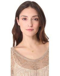 Gorjana   Metallic Birthstone Crystal Necklace - December   Lyst