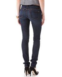 J Brand - Blue Denim Pants - Lyst