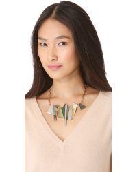 Kelly Wearstler - Natural Facet Statement Necklace - Lyst