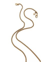 Kenneth Jay Lane | Metallic Elephant Necklace | Lyst
