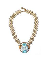 Lulu Frost - Metallic Snake Necklace 24 - Lyst
