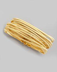 Marco Bicego | Metallic Cairo 18k Thirteen-strand Bracelet | Lyst