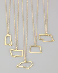 Maya Brenner Designs - Metallic Maya Brenner 14k Gold Necklace - Lyst