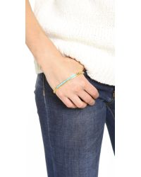 A Peace Treaty - Metallic Lotso Palm Wrap Bracelet - Lyst
