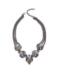 Alexis Bittar - Metallic Small Cascading Sodalite Necklace - Lyst