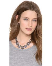 Alexis Bittar - Metallic Small Cascading Sodalite Necklace - Lyst