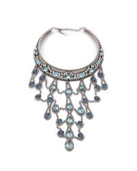 DANNIJO | Metallic Basel Necklace | Lyst