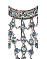 DANNIJO - Metallic Basel Necklace - Lyst