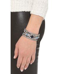 DANNIJO - Metallic Vermeer Pearlandspike Bracelet - Lyst