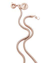 Giles & Brother - Metallic Cortina Pendant Necklace - Lyst