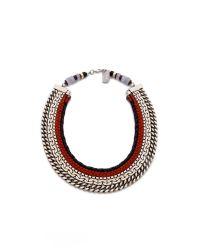 Lizzie Fortunato - Metallic The Oxford Necklace - Lyst