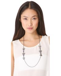 Marc By Marc Jacobs - Metallic Long Shooting Star Necklace - Lyst