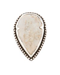 Pamela Love | Metallic Arrowhead Ring | Lyst