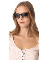Ray-Ban - Brown New Rectangle Sunglasses - Lyst