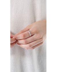 Shashi - Metallic Aztec Ring - Lyst