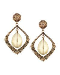 Stephen Dweck - Metallic Bronze Agate Drop Earrings - Lyst
