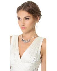 Tom Binns | Metallic Grande Dame Crystal Necklace | Lyst