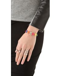 Venessa Arizaga - Multicolor Love Prayers Bracelet - Lyst