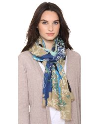 We Are Owls - Multicolor Lace Of Life Cashmere Scarf - Lyst