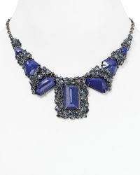 Alexis Bittar | Blue Pavo Large Nova Lapis Necklace 16 | Lyst