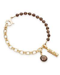 Astley Clarke | Metallic Smoky Quartz Charm Bracelet | Lyst