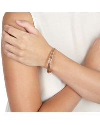 Astley Clarke - Brown Cappuccino Beaded Bangle - Lyst