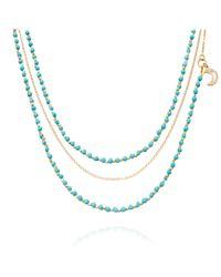 Astley Clarke | Blue Aquamarine Pendant | Lyst