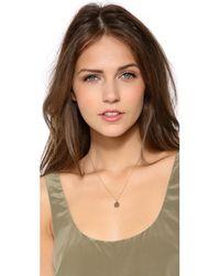 Dara Ettinger - Metallic Alana Pendant Necklace - Lyst