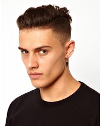 Cheap Monday | Black Triangle Earring for Men | Lyst