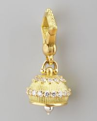 Paul Morelli | Metallic 18k Granulated Meditation Bell Pendant | Lyst