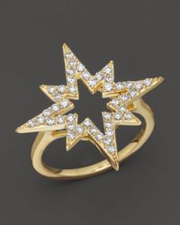 Khai Khai | Diamond Starsplosion Ring In 18k Yellow Gold, .5 Ct. T.w. | Lyst