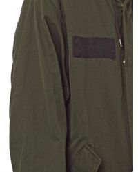Marc By Marc Jacobs - Green Hooded Parka Coat - Lyst