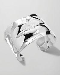 Ippolita | Sterling Silver Scultura Lips Cuff Bracelet | Lyst