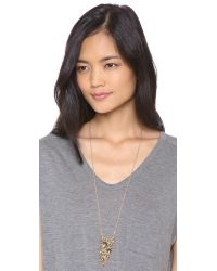 Alexis Bittar - Metallic Articulating Pyrite Pendant Necklace - Lyst