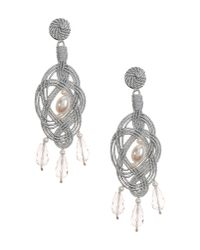 Anna E Alex | Metallic Earrings | Lyst