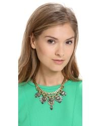 Elizabeth Cole - Metallic Dominique Necklace - Lyst