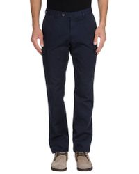 Incotex | Blue Casual Pants for Men | Lyst