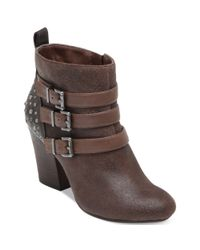 Jessica Simpson - Brown Catie Booties - Lyst