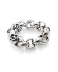 John Hardy - Metallic Sterling Silver Bamboo Link Bracelet - Lyst