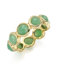 Monica Vinader | Green Siren Eternity Ring Large | Lyst