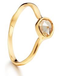 Monica Vinader | Metallic Siren Ring | Lyst