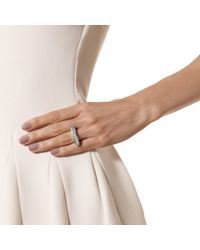 Monica Vinader | Metallic Baja Long Ring | Lyst