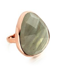 Monica Vinader | Gray Siren Cocktail Ring | Lyst
