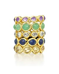 Monica Vinader | Metallic Siren Eternity Ring Large | Lyst