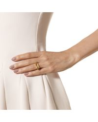 Monica Vinader - Metallic Riva Stick Ring - Lyst