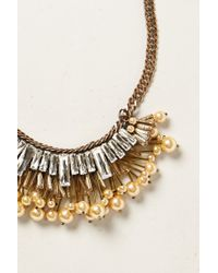 Rada' | Metallic Perpetua Bib Necklace | Lyst