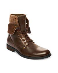 Steve Madden - Brown Madden Shoes Kegger Boots for Men - Lyst